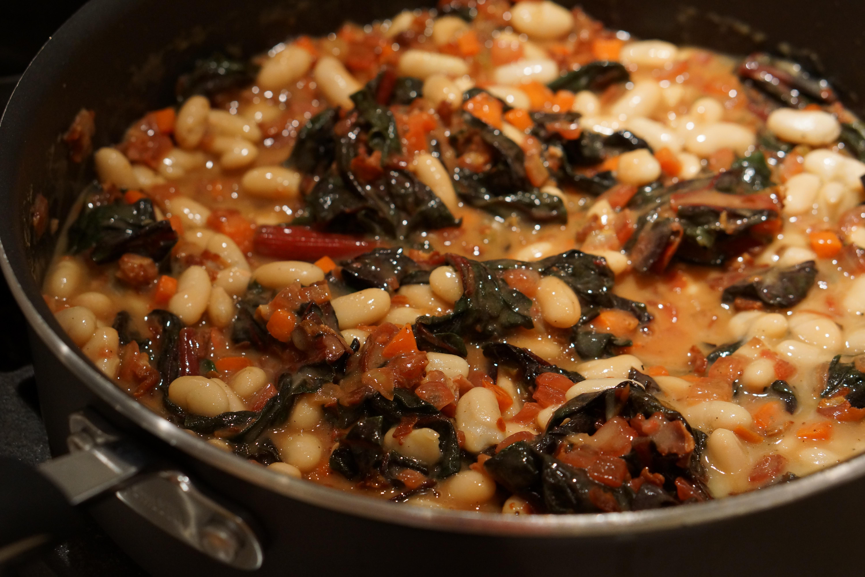 Recipe – Pancetta, White Bean and Swiss Chard Pot Pies | The Good ...