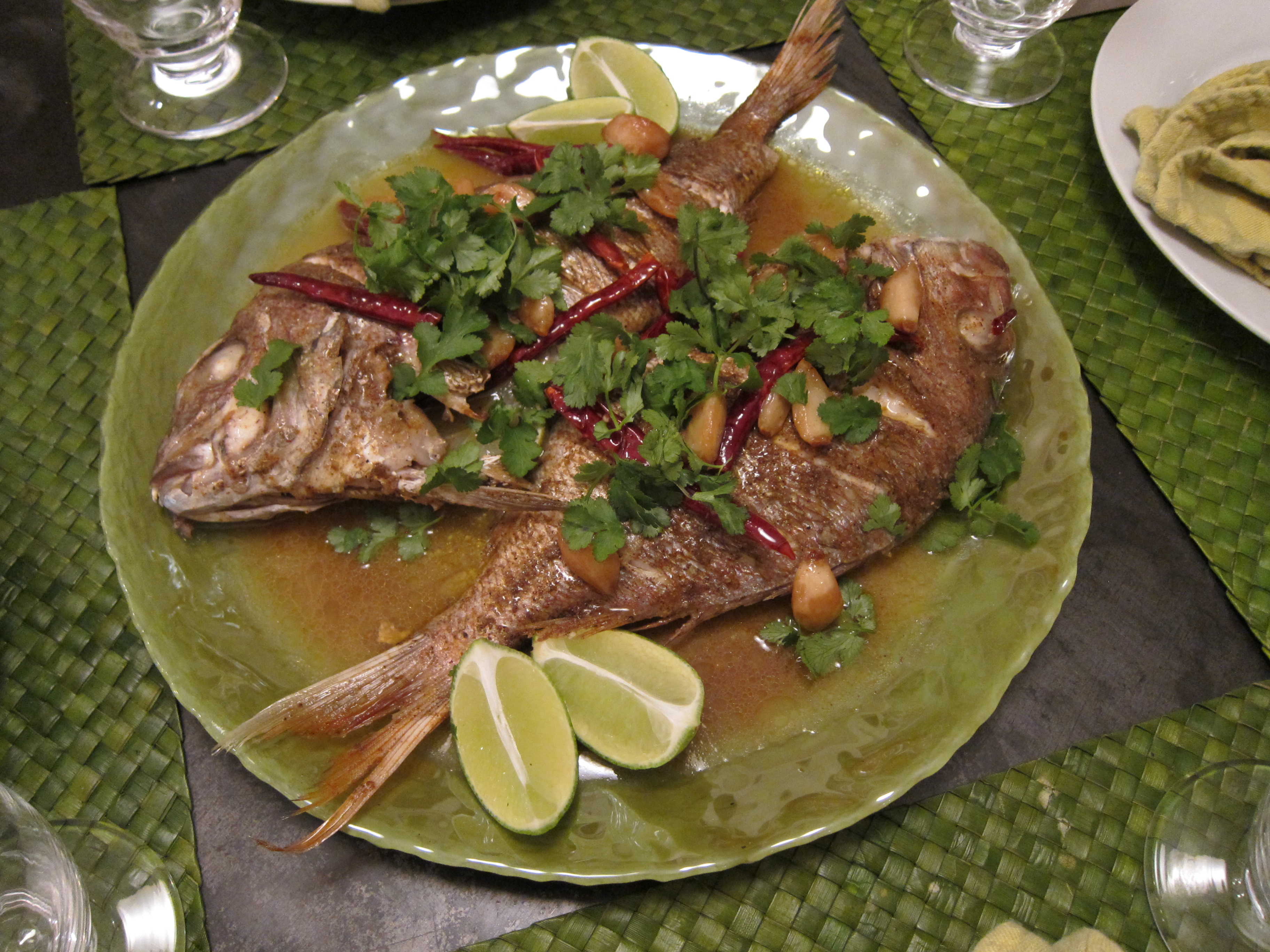 Recipe joe jack s red snapper the good eater for Jack fish recipe